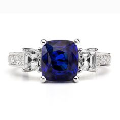 SAPPHIRE - the color blue holds an endless fascination. From the high dome of…