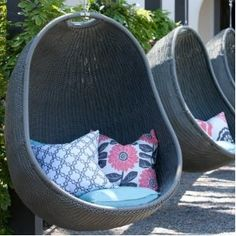 Outback Chair Co. Urban Balance Cove Wicker Hanging Chair