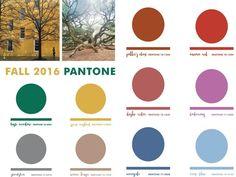 Colores Pantone otoño 2016