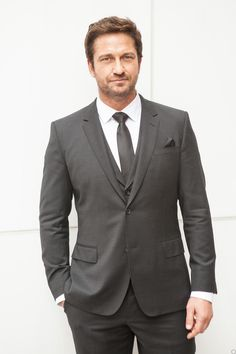 UHQ NYC Fashion Week - Gerard Butler attends Hugo Boss Woman Event 02/12/14