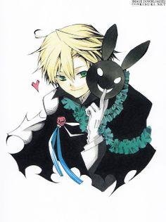 Anime rabbit Guys   ... Mochizuki, if not mistaken. Oz is holding a frigging B-Rabbit mask