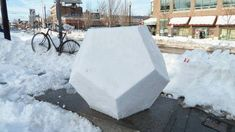 Actually it's a snowdecahedron.