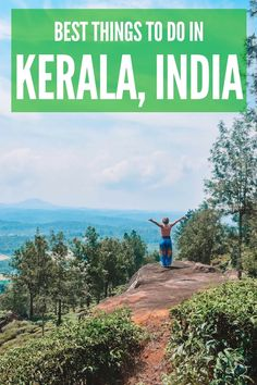 Planning a trip to Kerala, India? Discover all the best things to do and most awesome places to visit in Kerala with this ultimate Kerala bucket list! Including backwater cruises, tea plantations, hikes with epic views and much more! India Travel Guide, Asia Travel, Kerala Travel, Travel Advice, Travel Guides, Travel Tips, Kerala India, India Asia, Amazing Destinations