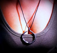 Check out this item in my Etsy shop https://www.etsy.com/listing/177910963/hand-forged-necklace