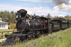 Edmonton Steam Train Photo Gallery | Fort Edmonton Park