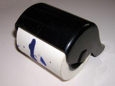 Löschpapier Roller hatte mein Vater auf dem Schreibtisch