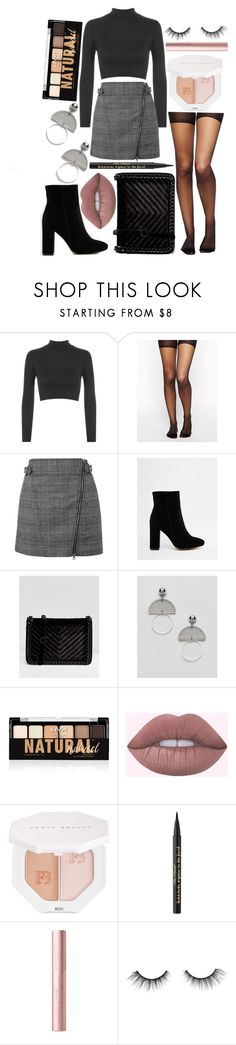 """""""OOTD 2.9.18"""" by angelsaffairs ❤ liked on Polyvore featuring WearAll, ASOS, Public Desire, ALDO, NYX, Puma, Too Faced Cosmetics and tarte"""