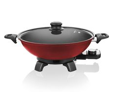View all the Pans & Woks products offered by Creative Housewares Electric Wok, Charcoal Grill, Bangkok, Room Decor, Kitchen Appliances, Cooking, Outdoor Decor, Red, Creative
