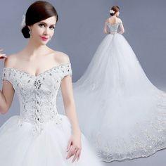 vestidos de novia fotos largo