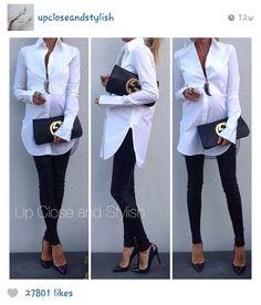 perfect white maternity shirt