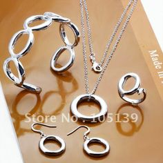 925 sterling silver jewelry set,925 jewelry,free shipping wholesale,925 silver jewelry set US $13.23