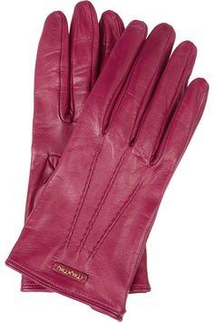 Miu Miu|Leather gloves |NET-A-PORTER.COM