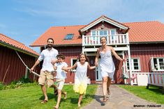 Image result for einfamilienhaus familie