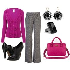 Love the tweed pants! Perfect with my new tweed skirt purse!