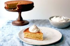 Double Vanilla Butter Cake with Chantilly Cream Recipe on Food52 recipe on Food52