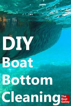 How to recognize that the bottom of your boat is fouled with growth, and how best to clean it yourself. Learn from my mistakes!