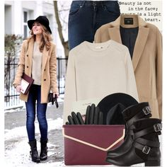 A fashion look from December 2014 featuring Chloé sweaters, Dorothy Perkins coats and Acne Studios jeans. Browse and shop related looks.