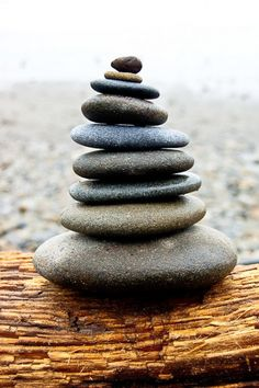 Items similar to In Balance, Cairnes, Stacked Rocks on Washington Beach- 8 x 10 Fine Art Photography Print- Peace, Zen, Calm on Etsy