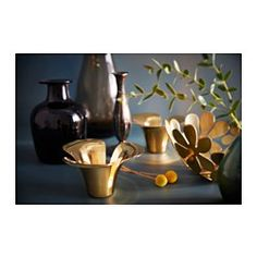 IKEA - STOCKHOLM, Bowl, Fill the bowl with decorations or use it alone as a beautiful object in its own right.Soft feet stabilizes the bowl and protects the underlying surface.