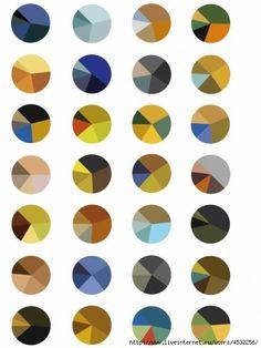 сочетание трех цветов - Поиск в Google