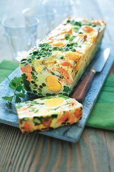 Terrine oeufs-saumon