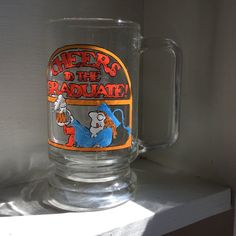 Graduation Mug  Cheers to the Graduate  Beer by MyVintagePoint