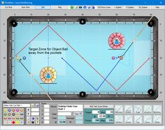 PoolShot, The Pool Aiming Training Software - Drills