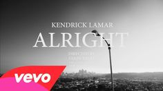 #KendrickLamar - #Alright - Wow! As usual Kendrick Lamar delivers a striking visual. He addresses police brutality in this video.