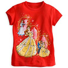 Beauty and the Beast Tee for Girls Disney Princess Outfits, Disney Princess Pictures, Disney Outfits, Disney Clothes, Cute Disney, Disney Girls, Walt Disney, Toddler Outfits, Girl Outfits