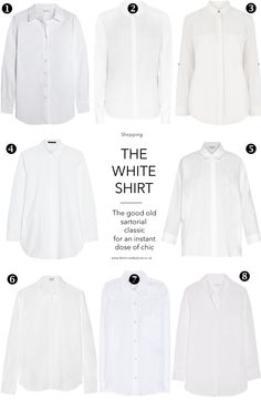Wardrobe essentials / classic white shirt / best buys / brief history / outfit inspiration how to wear white shirt / equipment, reins, warehouse, isabel mariant, mih jeans, theory / via fashioned by love british fashion blog