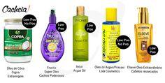 óleos low poo e no poo cabelos ressecados
