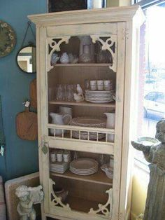 Love this... bookcase with a screen door