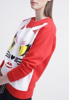 KARL LAGERFELD MARGO - Sweatshirt - red - ZALANDO.FR