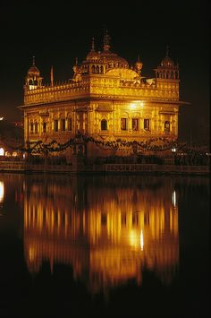 Golden Temple Reflected | Amristar | Punjab | India | Photo By James P. Blair