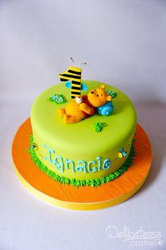 Baby Winnie Pooh by Delicatesse Postres, via Flickr