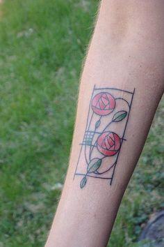 Mackintosh rose tattoo inspiration. Already pinned? Worth it again I think