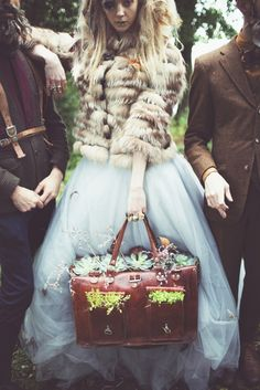 Strange place to plant things. Glamorous and Weird Wedding Inspiration Photoshoot Inspiration, Wedding Inspiration, Manic Pixie Dream Girl, Bridal Shoot, Compliments, Tulle, The Incredibles, Glamour, Couture