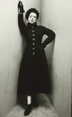 Elsa Schiaparelli corner portrait