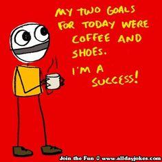 Very achievable goals.