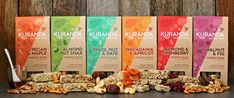 Our Energy Bars come in 6 delicious flavours to suit a wide variety of diets.  The Kuranda Gluten Free range is made with the finest quality nuts and seeds and just the right amount of naturally sweet dried fruits.  Flavours include Almond and Cranberry, Walnut and Fig, Almond Nut Snax (Fruit Free), Pecan and Maple (Vegan and Fruit Free), Brazil Nut & Date, and Macadamia and Organic Apricot.