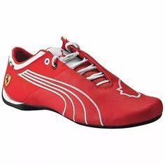344328938f Tenis Puma Future Cat M1 Sf Tifosi 305298-04 Rojo Blanco Oi -   2