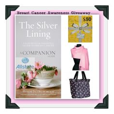 #Win #Allstate and #HoIlyeJacobs #Cancerawarness #SilverLiningsCompanionGuide  and bundle including :� Hard Copy of the Silver Lining Companion Guide #BreastCancertote (5% of profits donated to The #BreastCancerResearch) Pink Pashmina  and a $50 #VisaGiftCard! @born2impress #ad