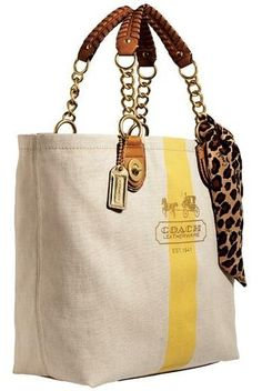 Actually like this Coach tote, coach isn't normally my thing!