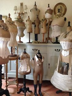 Holy Vintage Dress Forms!                                                                                                                                                                                 More