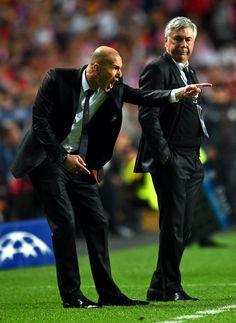 Zinedine Zidane Carlo Ancelotti Photos: Real Madrid v Atletico de Madrid - UEFA Champions League Final
