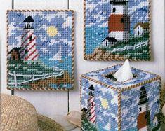 Plastic Canvas Coasters, Plastic Canvas Tissue Boxes, Plastic Canvas Crafts, Plastic Canvas Patterns, Christmas Poinsettia, Christmas Nativity, Christmas Ornament, Tent Stitch, Crochet Flower Tutorial