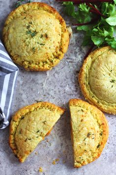 Spiced Butternut and Cauliflower Cheese Pithiviers | K.O Rasoi