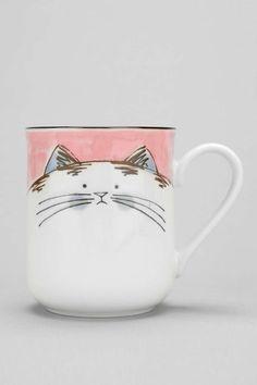 Taza del gato feliz - Urban Outfitters