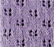 Les points ajourés au tricot - 2ème série - La Boutique du Tricot et des Loisirs Créatifs