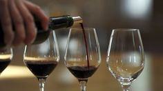 Bordeaux wine being poured - 2011 file pic